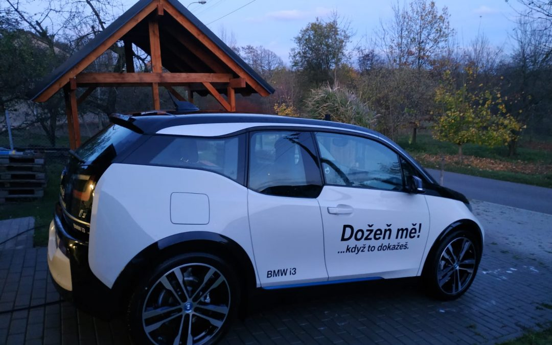 Testování čistě elektro BMW i3 pro firemní vozový park EWI